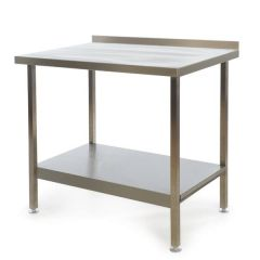 Stainless Steel Fully Welded Kitchen Wall Bench 900x600x900mm