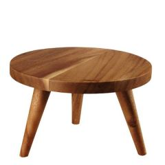 "Alchemy Buffetscape Wooden Round Large Stand 10x6"" / 25x15cm"
