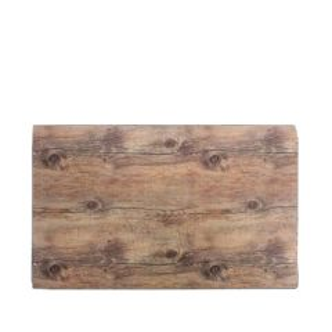 "Melamine Driftwood 1/1 Gastronorm Rectangular Tray 21x12.75"" / 53x32.5cm"