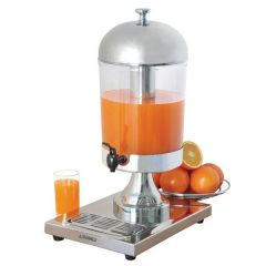 Juice Dispenser Stainless Steel / Polycarbonate 14.4 Pint / 8Ltr