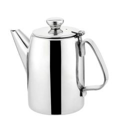 Superior Coffee Pot Stainless Steel 32oz / 0.9 Litre