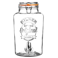 Kilner Drinks Dispenser with Tap 8 Ltr, 280mm Diameter / 365mm Tall