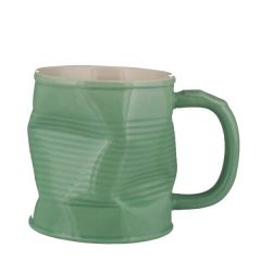 Squashed Tin Can Mug Pistachio 11.25oz / 32cl