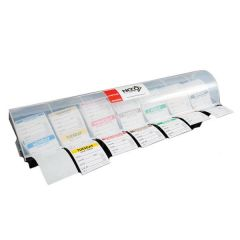 """7 Compartment Day Dot Label Dispenser for 2"""" / 50mm Labels"""