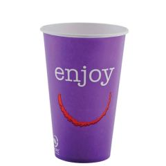 Enjoy Paper Cold Cups 16oz (4 Mixed Colours)