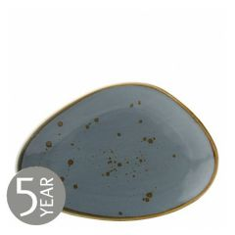 "Earth Thistle Oblong Plate 11.5"" / 29cm"