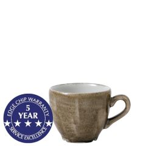 Churchill Stonecast Patina Antique Taupe Espresso Cup 3.5oz / 10cl