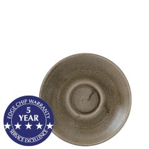 Churchill Stonecast Patina Antique Taupe Saucer 6.25 / 15.6cm