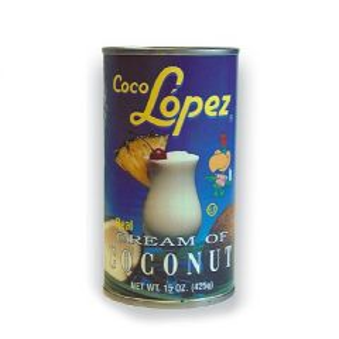 Coco Lopez Cream of Coconut Tin for Pina Coladas 425g
