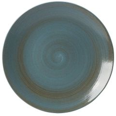 "Royal Crown Derby Studio Glaze Ocean Whisper Coupe Plate 13.5"" / 34cm"