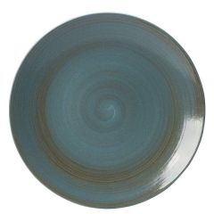 "Royal Crown Derby Studio Glaze Ocean Whisper Coupe Plate 12"" / 30cm"