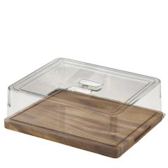 Clear Polycarbonate 1/2 Gastronorm Cover