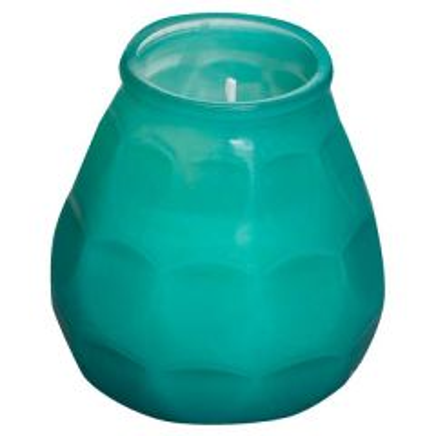 Bolsius Twilight Lowboy Candle Sea Green