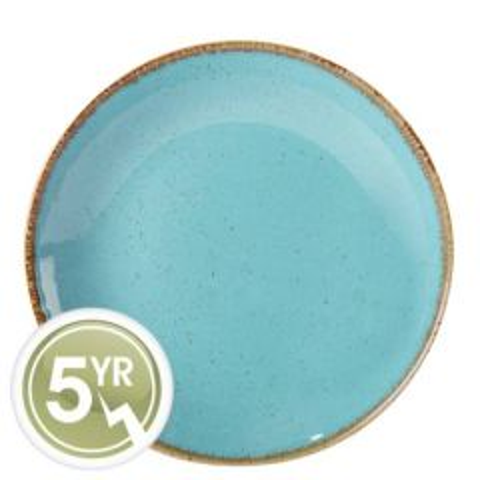 "Porcelite Seasons Sea Spray Coupe Plate 11"" / 28cm"
