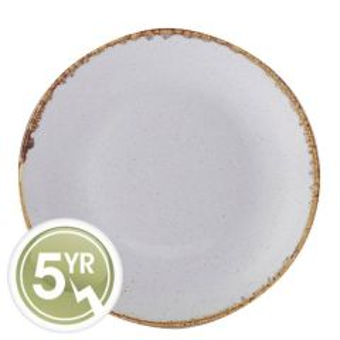 Porcelite Seasons Stone Coupe Plate