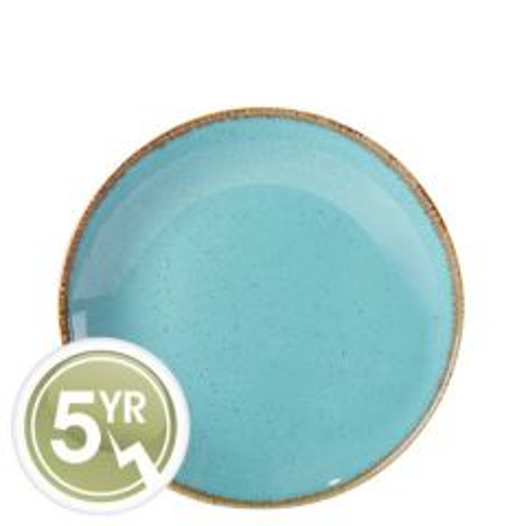 Porcelite Seasons Sea Spray Coupe Plate