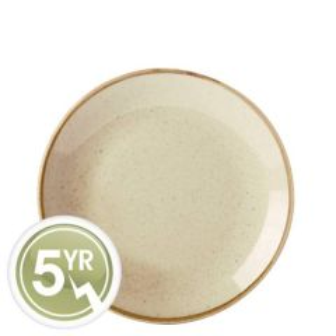 Porcelite Seasons Wheat Coupe Plate