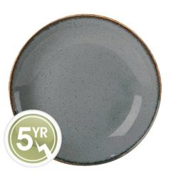 Porcelite Seasons Storm Coupe Plate