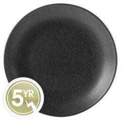 Porcelite Seasons Graphite Coupe Plate