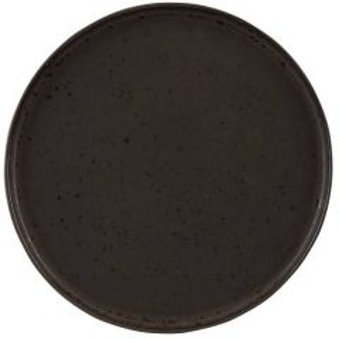 "Rustico Impressions Flint Presentation Plate 13"" / 33cm"