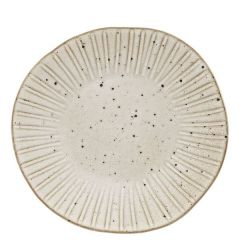 """Rustico Impressions Oyster Dinner Plate 11"""" / 28.5cm"""