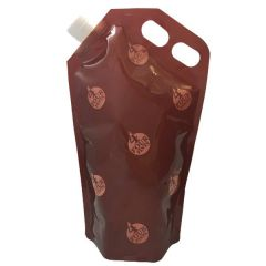 Four Pint Brown Expandable Beer Carrier
