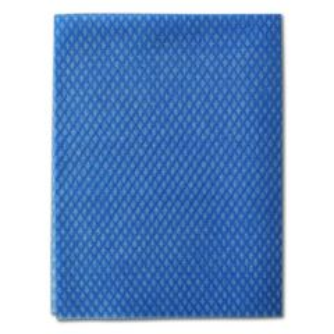Envirolite Blue Disposable Folded Food Contact Safe Cloths 48x36cm