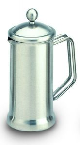 Café Stal Single Walled Cafetiere 18/10 Mirror Finish Stainless Steel Six Cup