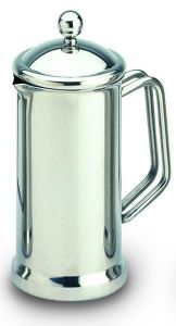 Café Stal Single Walled Cafetiere 18/10 Mirror Finish Stainless Steel Eight Cup
