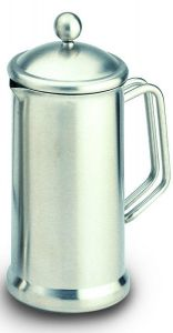 Café Stal Single Walled Cafetiere 18/10 Mirror Finish Stainless Steel Twelve Cup