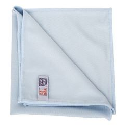 "Microglass Premium Blue Jumbo Microfibre Cloth 30x27.5"" / 76x70cm"