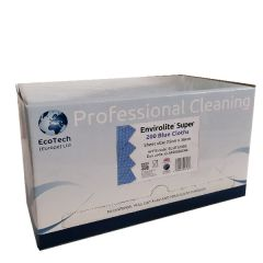 Dispenser Box with Blue Label for Blue Antibacterial Centrefeed Roll 200 Sheet