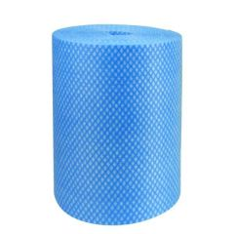 Blue Envirolite Super Antibacterial Cleaning Cloth Roll 25x25cm (500 Sheet Roll)
