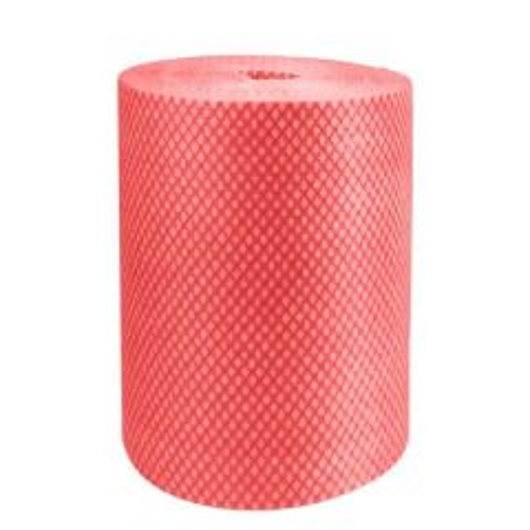 Red Envirolite Super Antibacterial Cleaning Cloth Roll 25x25cm (500 Sheet Roll)