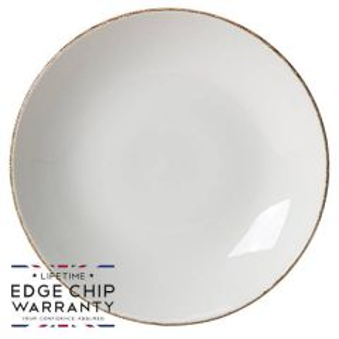 """Steelite Brown Dapple Coupe Plate 11.75"""" / 30cm"""