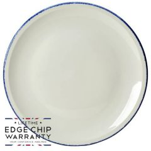 "Steelite Blue Dapple Pizza Plate 12.5"" / 31.5cm"