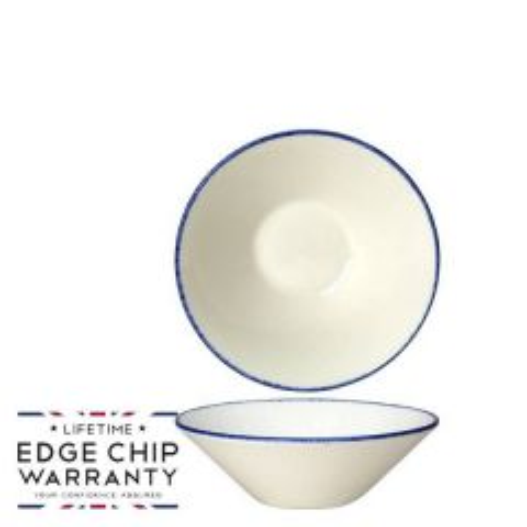 "Steelite Blue Dapple Essence Bowl 4.5"" / 11.2cm"