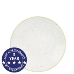 """Churchill Stonecast Barley White Deep Coupe Plate 8.83"""" / 22.5cm"""