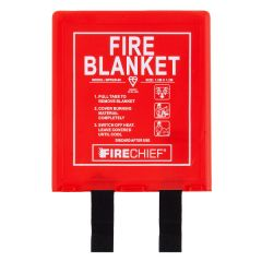 Fire Blanket with Rigid Holder 1.2 x 1.2m