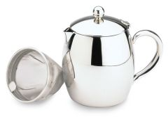 Bellux Stainless Steel Double Wall Teapot 48oz