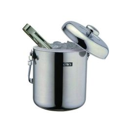 Elia Double Walled Ice Pail with Tongs 1.3Ltr