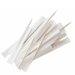 """Wrapped Wooden Toothpicks 2.75"""" / 7cm"""