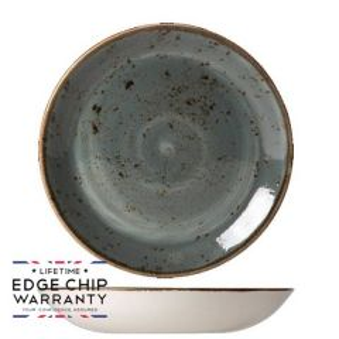 "Steelite Craft Blue Coupe Bowl 10"" / 25.25cm"