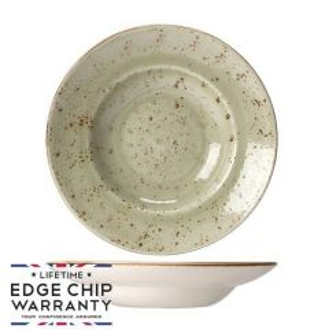 "Steelite Craft Green Nouveau Bowl 10.75"" / 27cm"