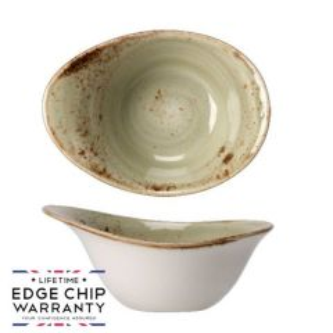 "Steelite Craft Green Deep Freestyle Bowl 7"" / 18cm"