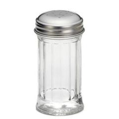 Fluted Salt and Pepper Shakers 2oz / 60ml
