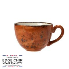 Steelite Craft Terracotta Low Cup 8oz / 22.75cl