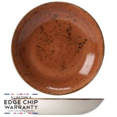 "Steelite Craft Terracotta Coupe Bowl 10"" / 25.25cm"