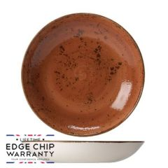 "Steelite Craft Terracotta Coupe Bowl 8.5"" / 20.5cm"