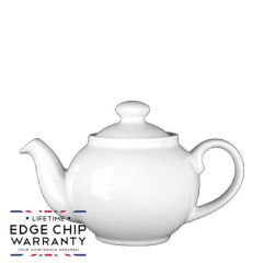 Steelite Simplicity White Traditional Teapot 15oz / 42.5cl